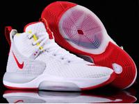 Nike Zoom Rize Men's Basketball Shoes BQ5467 100 White Red Orbit Yellow Grey 9.5