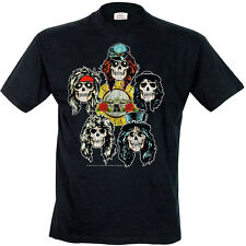 Guns'N'Roses - Vintage Heads T-Shirt Homme / Man - Taille / Size S ROCK OFF