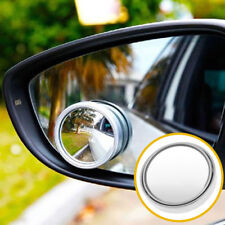 Round Car Blind Spot Side View Rearview Mirror Stick-On Latest Wide Angle Convex