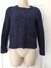 Laura Ashley 80% Lambswool Cardigan Size 8