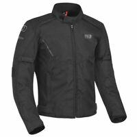 Oxford Delta 1.0 Short Moto Motorcycle Motorbike Textile Jacket Tech Black