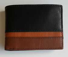 Fossil Easton RFID Traveler Men's Genuine Leather Wallet MSRP $64