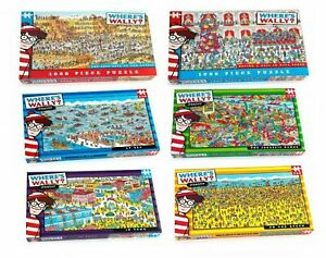 Where's Wally Jigsaw Puzzle - 100, 250 or 1000 Pieces