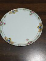 Nippon plate, Old Mark, 6.25 inches diameter, roses