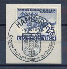 Briefmarken aus dem deutschen Reich (1933-1945) als Satz mit Sonderstempel