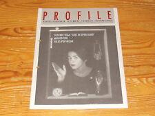 Profils signifiant 4/1990/Promo-Livret avec Suzanne Vega, STS, Phillip Boa