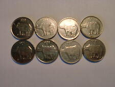 "- INDIA - 8  X  "" 25 PAISE ""  OLD  COINS - ALL DIFFERENT - RARE -1988C-1994# 7Y7"