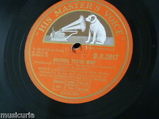 78rpm MARIO LANZA because you`re mine / the song angels sing