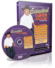 ESSENTIAL LINE DANCES Vol 2 Video Trautman Dancing Lesson DVD NIB