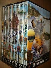 OPERA COMPLETA 8 DVD OVERLAND 7 WORLD TRUCK EXPEDITION RITORNO IN SIBERIA