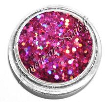 boite paillette fine bijou ongle Rose Vif HOLO HEXAGONES 1mm Nail Art