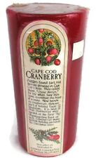 """Yankee Candle Cape Cod Cranberry 6"""" Red"""
