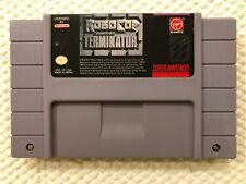 Robocop Versus The Terminator ( Super Nintendo ) SNES • Authentic •