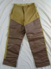 Vtg 50s 60s Montgomery Wards Western Field Canvas Hunting Pants Usa Made 31x29