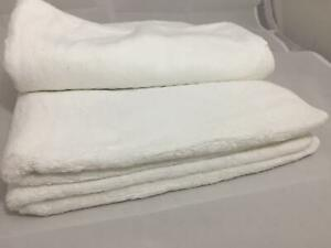 White Towel Face/Hand/Bath Set Egyptian Collection Cotton Bathroom Towels