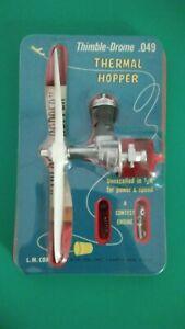 Vintage Cox Thermal Hopper .049 Model Airplane Engine SEALED PACKAGE