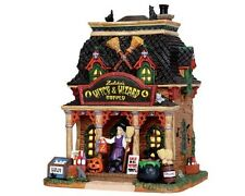 Lemax 2014 Halloween Zelda's Witch & Wizard Supply #35601 NIB FREE SHIP OFFER