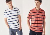 Crew Clothing Navy White Red Pique Oxford Polo Shirt T shirt top S M L XL 2XL