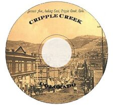 History of Cripple Creek Colorado Old West Ghost Town Gold Mine Mountain CD DVD