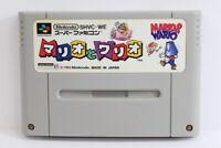 Mario & and Wario SFC Nintendo Super Famicom SNES Japan Import US Seller I6240