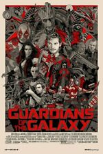 Tyler Stout - Guardians Of The Galaxy GOTG Variant AP X/15 Rare