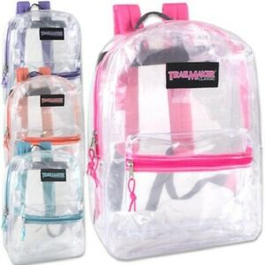 Trailmaker Girls Clear Backpack