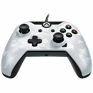 PDP Wired Controller For Xbox One White Camo Xbox One Very Good 1E