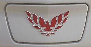 1998-2002 Firebird & Trans Am Front Plate Vinyl Bird Overlay in Choice of Color