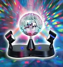 Mirror Disco Ball LED Strobe Light - 5 Inch -Energy Saving- For Parties,