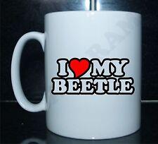I LOVE/CUORE il mio Maggiolino Novità Stampato Tè/tazza caffè confezione regalo/regalo ideale