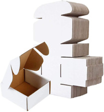 Shipping Box Bm442 4l X 4w X 2h Pack Of 50 White Small Mailing Corrugated C