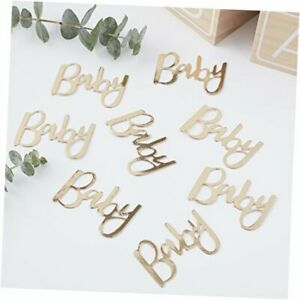 Gold Foiled Baby Shower Table Scatter Confetti