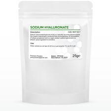 Hyaluronic Acid / Sodium Hyaluronate MMW 800kDa, Cosmetic & food grade *VEGAN*
