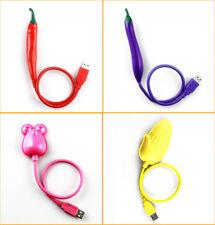 2pcs USB LED Lamp Flexible Goose Corn Light Lighting for Notebook Laptop Reading