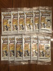 25th Anniversary Stamped General Mills 2021 SEALED Pokemon Cards *ON HAND* x12