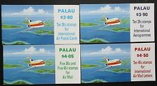 Palau 1989 Airmail Booklets(4) Aircraft Stamps. MNH.