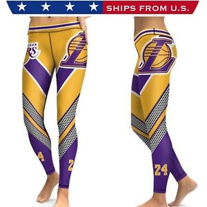 NBA LA LAKERS Women's Leggings - ALL SIZES - High Quality