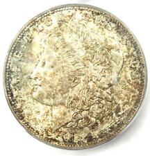 1921-D Morgan Silver Dollar $1 - ICG MS65 - Rare Date in MS65 - $350 Value!