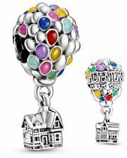 Genuine Pandora Silver ALE 925 Disney Pixars Up House & Balloons Charm 798962C01