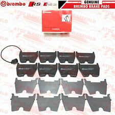 FOR AUDI RS3 8V RSQ3 TTRS RS Q3 TT RS FRONT BREMBO OEM BRAKE PADS SET X8 FR
