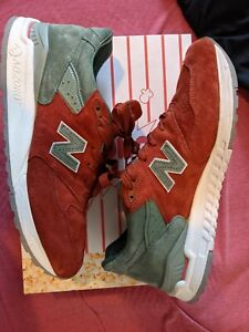 Size 12 - New Balance x Concepts 998 green monster