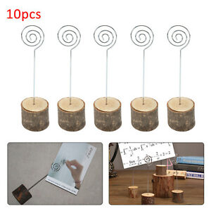 10X table number stands Number Card Holders Clip Table Photo Stand Wedding Decor