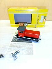 "NEW BRAWA 1/87 ART.0551 LOCOMOTIVA DIESEL ""BR 312"" CARGO BOX ORIGINALE"