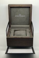Outer Watch Box Case Manuals Oem Authentic New Girard Perregaux Wooden Inner And