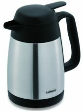 Leifheit Stainless Steel Jug Insulating Jug Thermos Teapot Coffee Pot 0,6 Litre