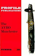 AVRO MANCHESTER: PROFILE #260/ NEW PRINT FACSIMILE ED/ 10 EXTRA PAGES Incl 2xA3