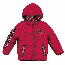 "NWT Louisville Cardinals ""PUFFY"" ncaa WINTER Jacket Jersey YOUTH KIDS BOYS M"