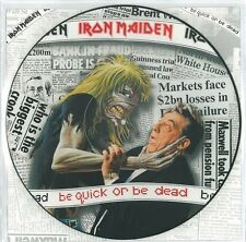 IRON MAIDEN Be Quick Or Be Dead Vinyl 12 Inch EMI 12 EMPD 229 1992 Picture Disc