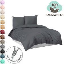 Bettwäsche Bettgarnitur Bettbezug 100% Baumwolle 135x200 155x220 200x200 200x220