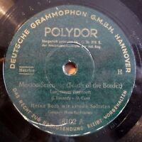 """Heinz Both - Mexico-Serenade - Du bist... - Polydor - /10"""" 78 RPM"""